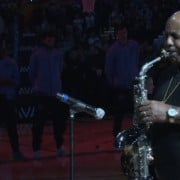 Gerald Albright Performs National Anthem at Denver Nuggets Game Gerald Albright, Jazz Musician